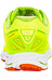 Mizuno Wave Shadow Shoes Men Saftey Yellow/Red Orange/Jasmin Green